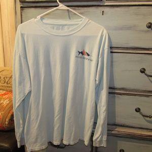 Fish Hippie Shirts - Fish Hippie Long Sleeve Tee~Medium